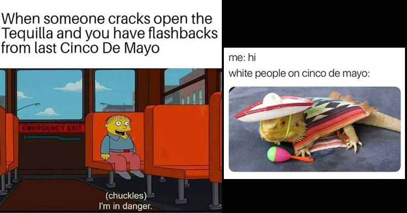 mexico drunk cinco de mayo mexican food funny memes tequila margarita holidays alcohol tacos battle of puebla white people - 8276485