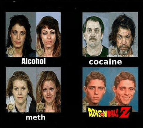 drugs,anime,Dragon Ball Z
