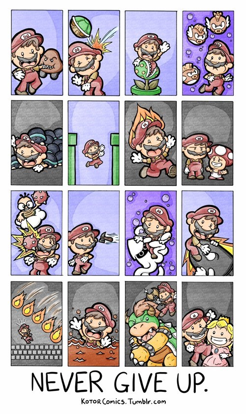 Fan Art,life lessons,mario
