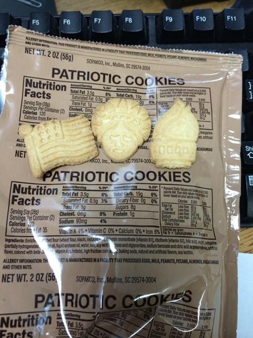 Statue of Liberty cookies - 8276836352