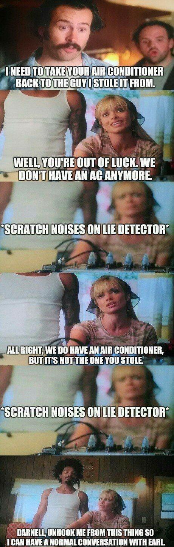 My Name is Earl lie detector flying - 8276983808
