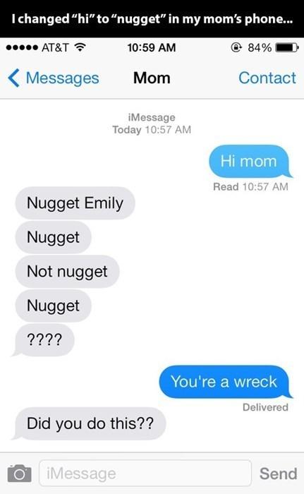 parenting texting