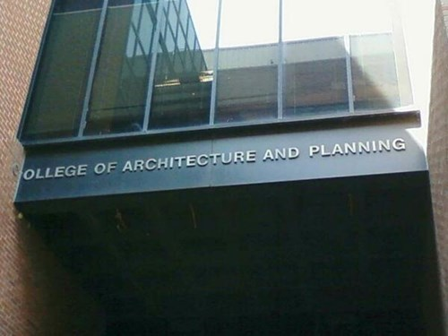 architecture signs plan ahead college - 8277026048