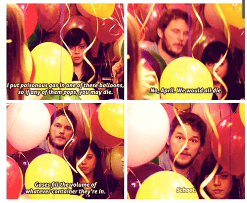 parks and recreation school science funny - 8277072896