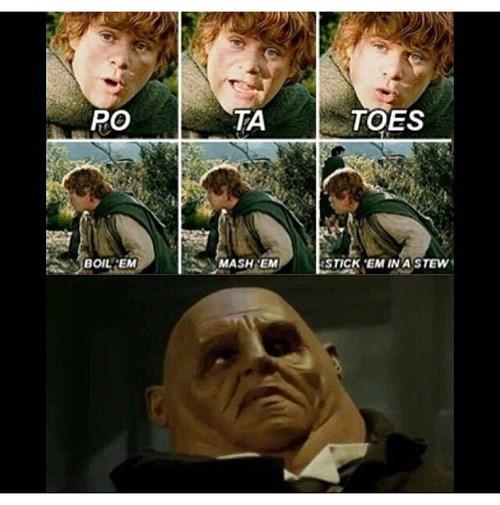Lord of the Rings sontaran potatoes strax - 8277138688