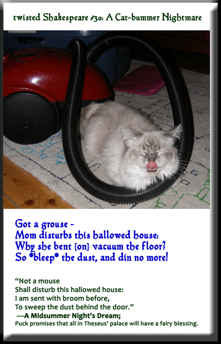 twisted Shakespeare #30: A Cat-bummer Nightmare