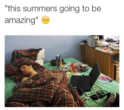 summer back to school amazing sleep funny - 8277440768