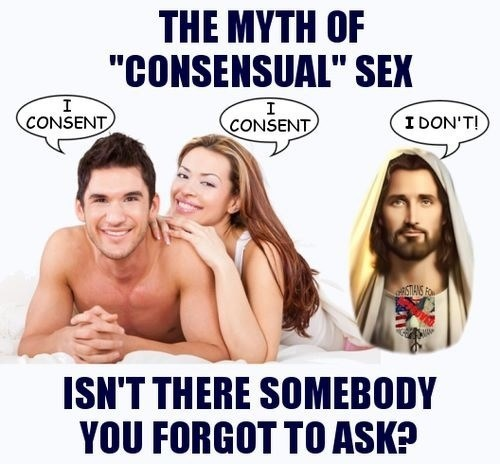 jesus consensual sexy times funny - 8277457920