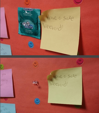 bad idea,weekend,idiots,condoms,dating