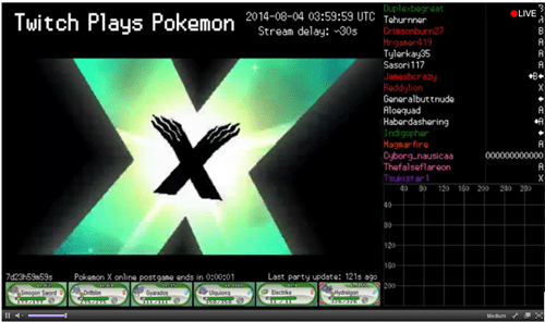 Pokémon twitch plays pokemon pokemon x/y - 8277494784