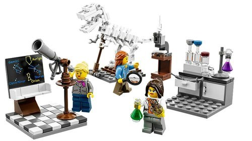 lego aweosme science women - 8277538560