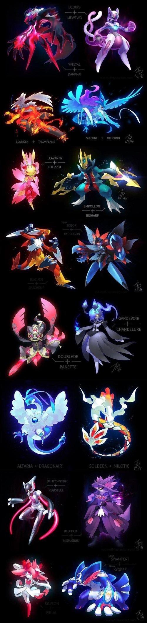 Pokémon,pokemon fusions
