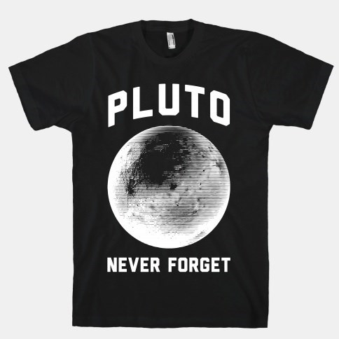 pluto poorly dressed t shirts - 8277660672