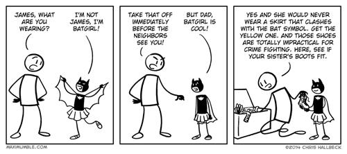 cosplay batgirl web comics - 8277682432