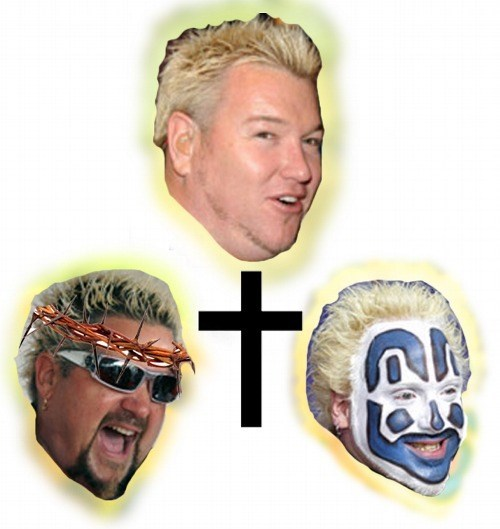 violent jay,cringe,Guy Fieri,smashmouth,insane clown posse,trinity