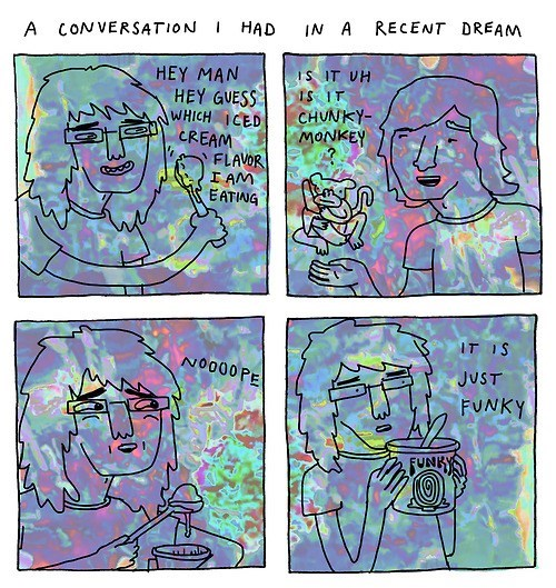 dreams,ice cream,web comics