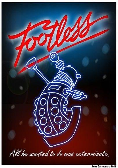 footloose posters daleks - 8277781504