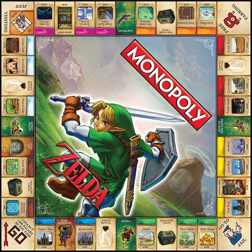 gaming,monopoly,zelda,Video Game Coverage