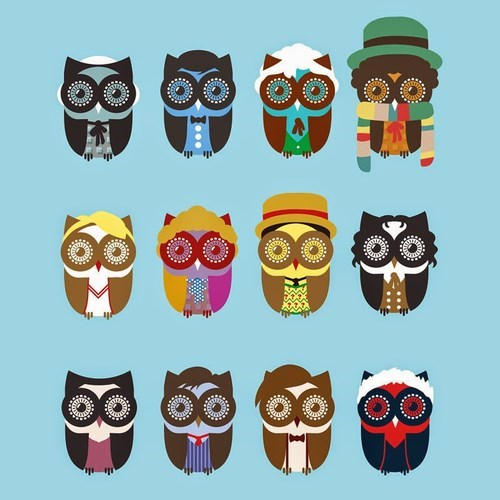 the doctor puns owls regeneration - 8277783808