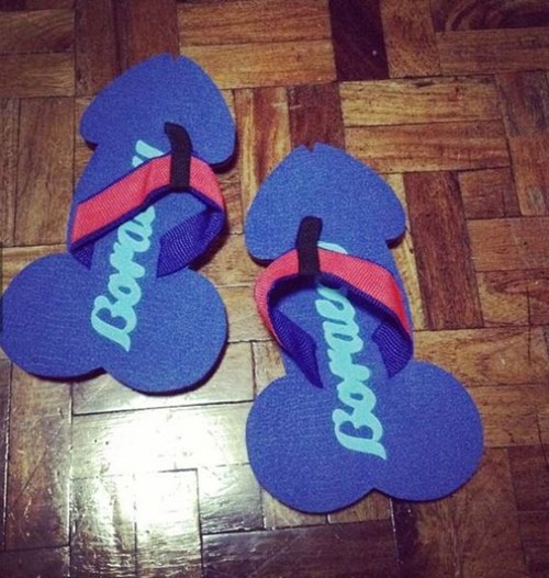 flip flops poorly dressed sandals - 8277791232