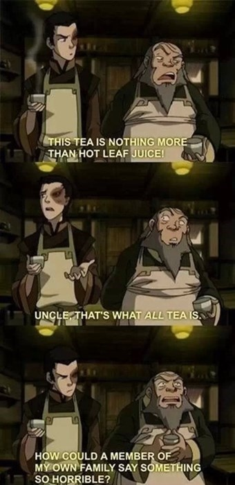 Avatar the Last Airbender tea cartoons Avatar iroh - 8277798656