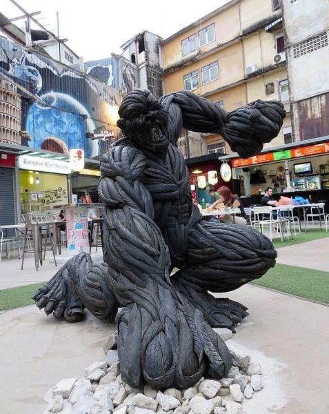 sculpture design tires - 8277918976