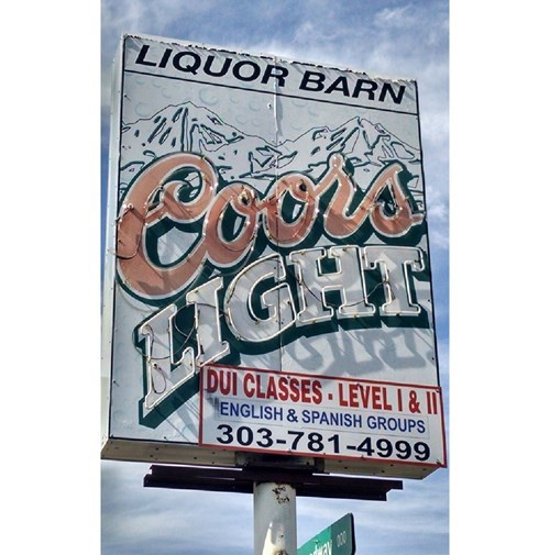beer sign classes dui funny