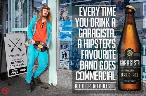 beer hippies hipsters awesome ads funny - 8278674432