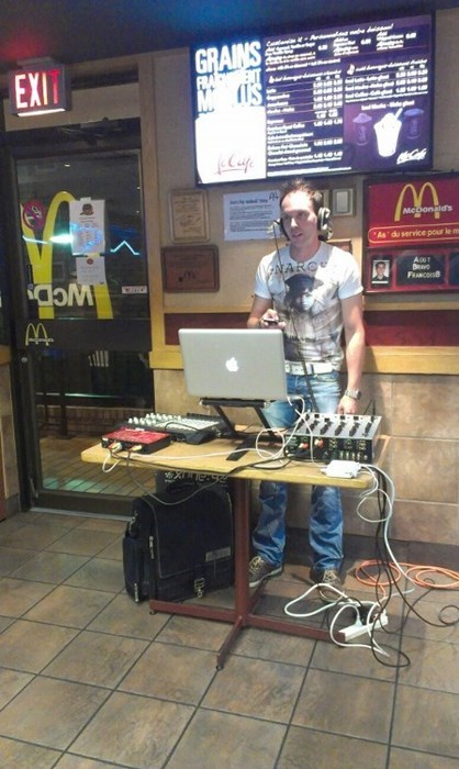dj turn down for what cringe McDonald's - 8278726912