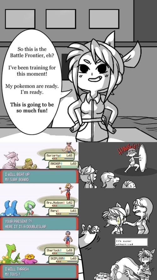 Pokémon battle frontier web comics - 8278747648