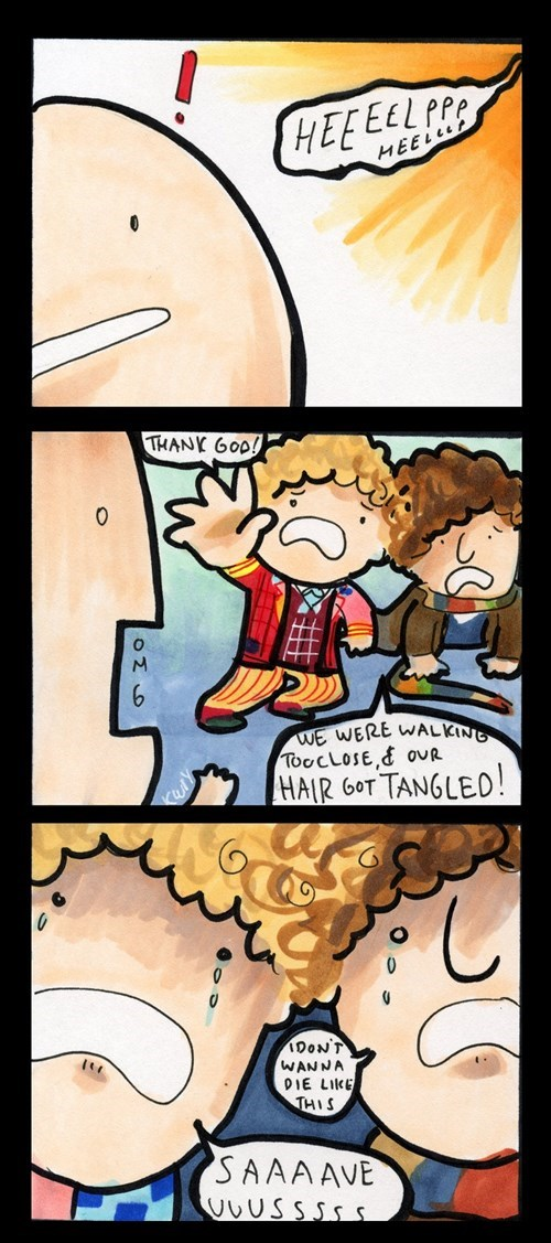 6th doctor 4th doctor web comics - 8278749440