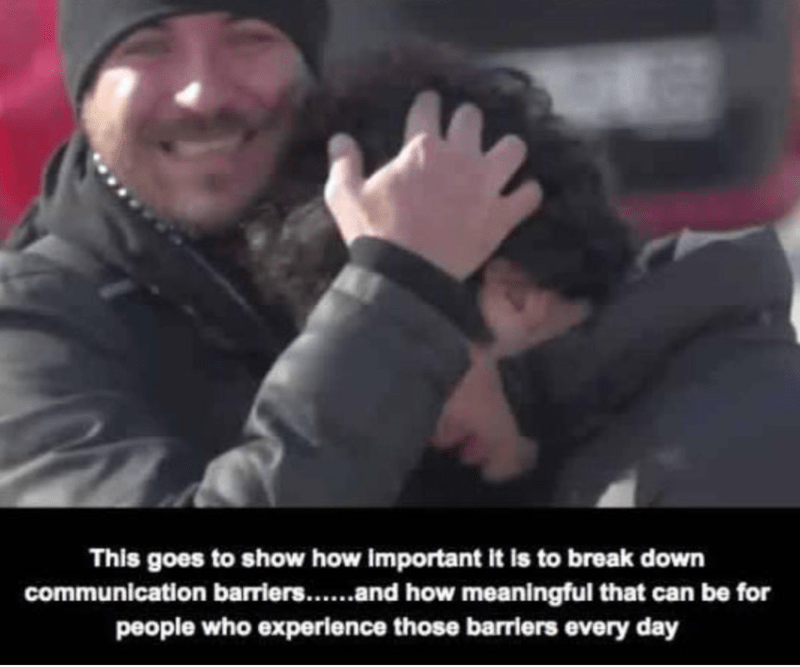 sign language heartwarming faith in humanity deaf - 8278789