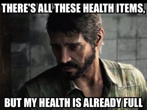 the last of us,health