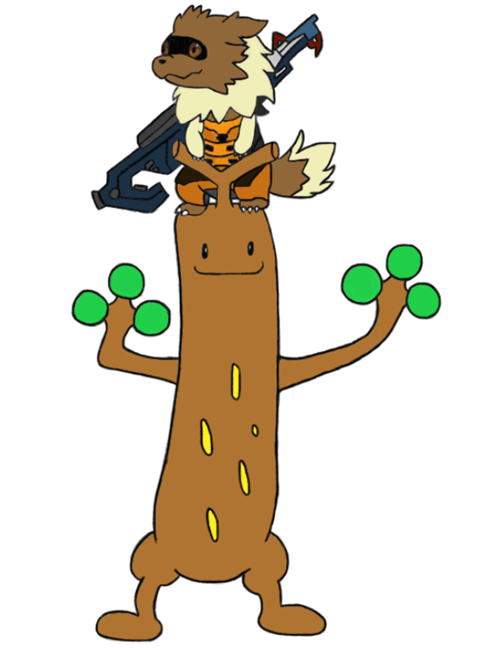 sudowoodo Pokémon guardians of the galaxy rocket groot - 8278836992