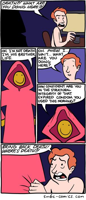 life Death smile web comics - 8278843392