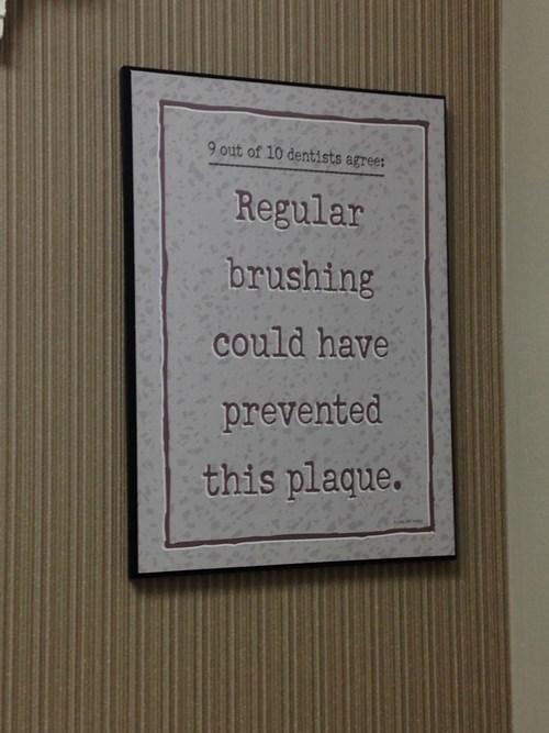 sign dentist puns - 8278872320