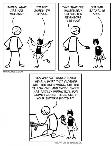 super heroes parenting web comics - 8279604480