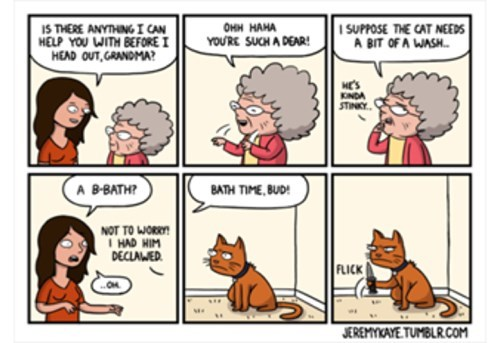 rage knives baths Cats web comics - 8279677696