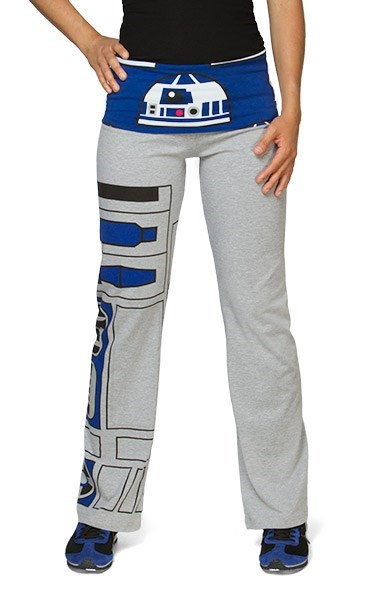r2d2 star wars poorly dressed yoga pants - 8279688704