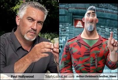 Arthur Christmas Brother.Paul Hollywood Totally Looks Like Arthur Christmas S Brother