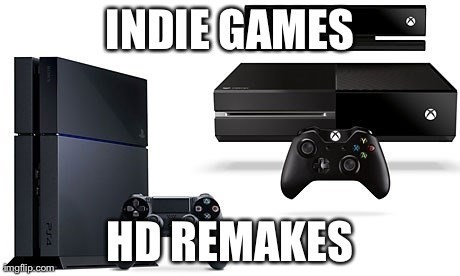 "gaming,""remastered"",remakes,indie games"
