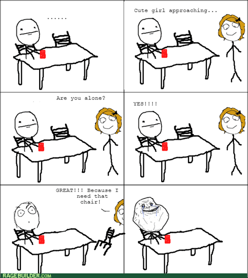 forever alone - 8279854080