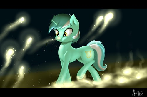 Fan Art lyra hearstrings MLP - 8279961600
