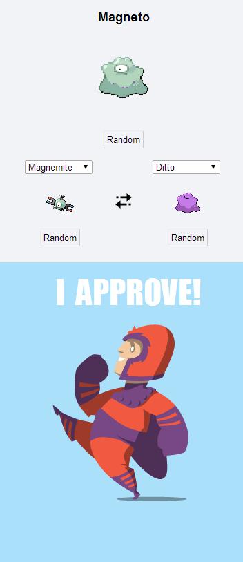 Pokémon,pokemon fusion,Magneto