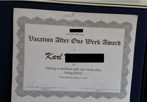 Anyone Would Be Honored to Accept This Award