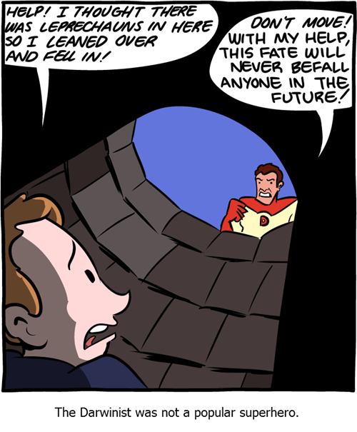 super heroes Darwin web comics - 8281004288