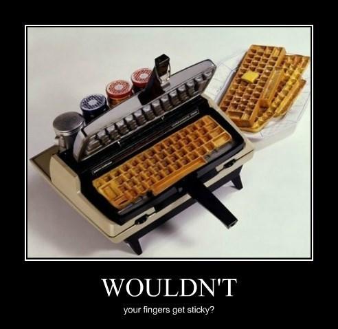 waffle awesome funny keyboard - 8281110016