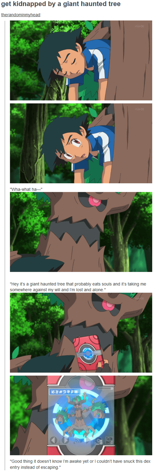 ash pokedex tumblr anime - 8281637376