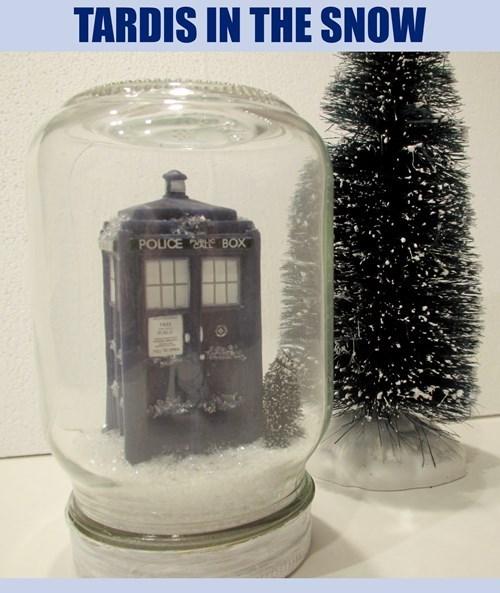 tardis snowglobe crafts - 8282167552