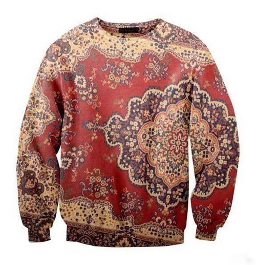 poorly dressed rug sweatshirt carpet - 8282170880